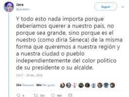 Hilo de Twitter orgulloso de ser español