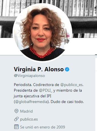 Tuit codirectora Público elecciones en Andalucía