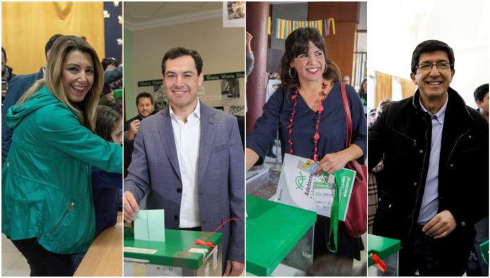 Moción de censura en Andalucía