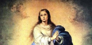 belleza física de María Inmaculada