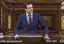 El vapuleo de Pablo Casado a Pedro Sánchez
