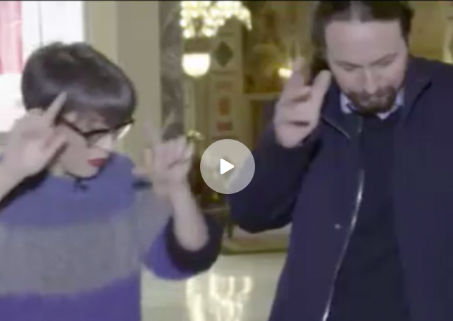 Pablo Iglesias absurdo baile