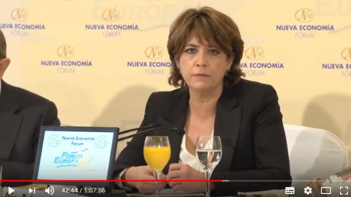 declaraciones de la Ministra Delgado