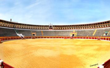 plaza de toros de Almendralejo