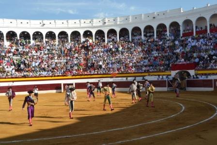 plaza de toros de Zafra