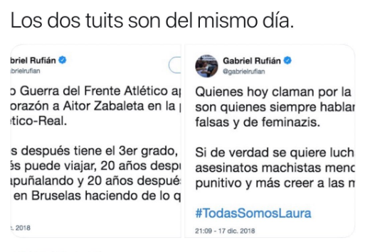 Gabriel Rufián se propina en un mismo día un autozasca