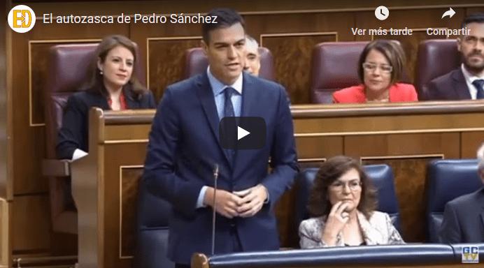 autozasca de Pedro Sánchez