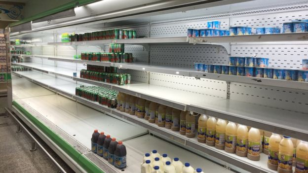 hundimiento de Venezuela
