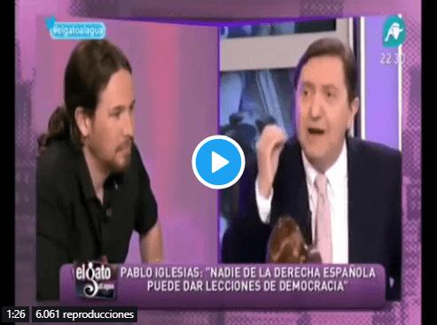 Cuando Jiménez Losantos dejó por los suelos a Pablo Iglesias