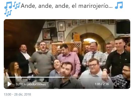 villancico dedicado al nefasto Gobierno del PSOE y a sus socios