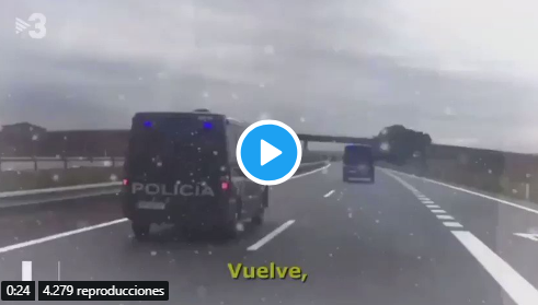 El vergonzoso villancico de TV3 dedicado a la Policía y Guardia Civil