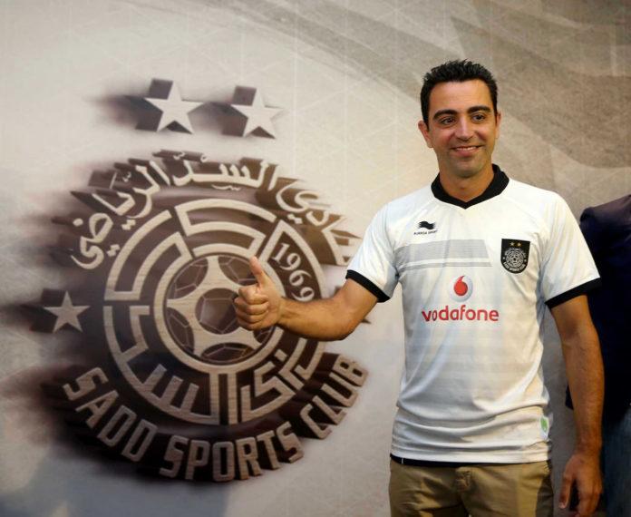 Xavi Hernández felicita a los