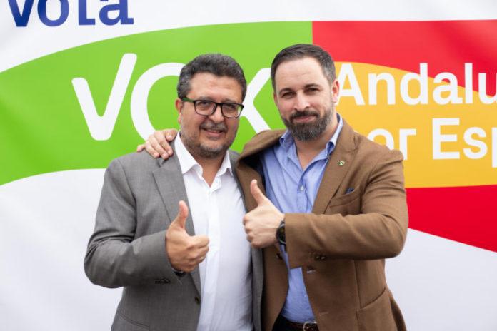 Santiago Abascal Francisco Serrano consejera Ciudadanos Junta Andalucía