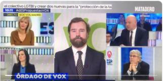 Colaborador programa Susanna Griso insulta a Iván Espinosa Vox