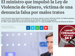 Juan Fernando López Aguilar Ley Violencia Género