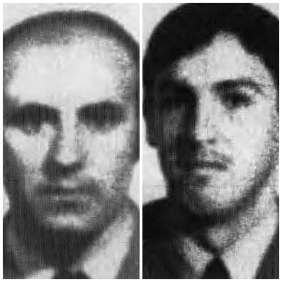 Víctimas ETA Miguel Ángel Raya Aguilar y Joaquín Ramos Gómez