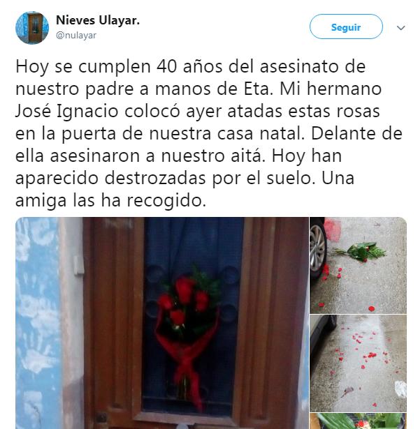 Hija Jesús Ulayar ETA