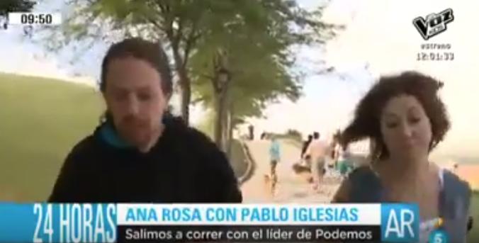 Pablo Iglesias Ana Rosa Quintana