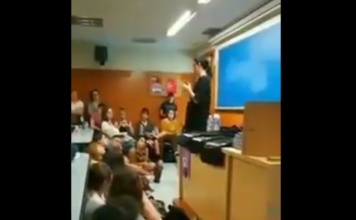Feminazi Pamela Palencia Palenciano manipular niños