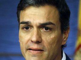 Tuit de Pedro Sánchez ahora en contra Rajoy