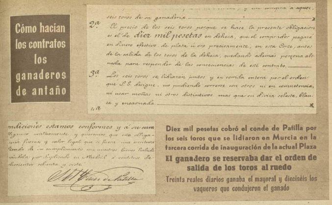 Los contratos ganaderos del siglo XIX