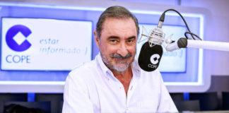 La respuesta de Carlos Herrera a Monedero tras los insultos a sus oyentes