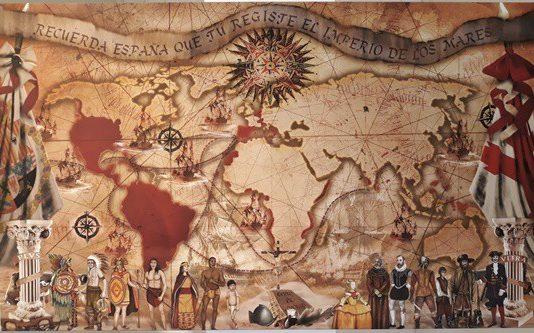 extensión de la monarquía hispánica
