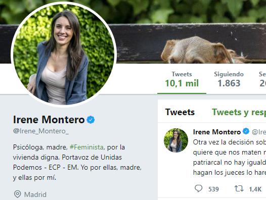 La camorrista de Irene Montero amenaza con tomarse la justicia por su mano