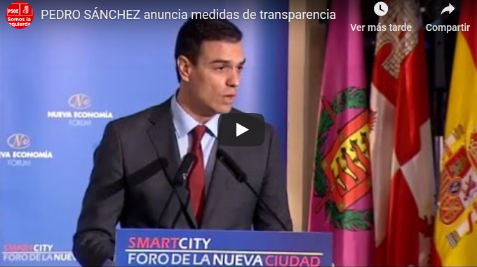 vídeo que deja a Pedro Sánchez como un sinvergüenza mentiroso