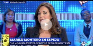 la opinión de Mariló Montero sobre Pablo Iglesias