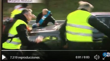 Taxista atropellado