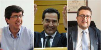 Tres partidos tienen la llave de Andalucía