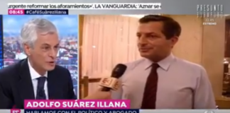 Adolfo Suárez anécdota Carrillo