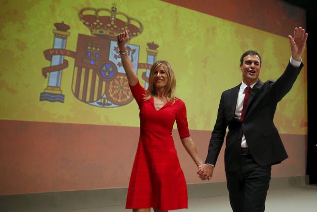 Lágrimas en los ojos Begoña Gómez Pedro Sánchez ambiciosa