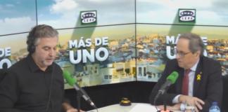 Carlos Alsina Quim Torra Onda Cero