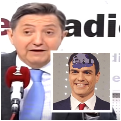 Jiménez Losantos Pedro Sánchez trolas