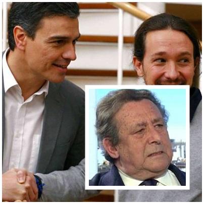 Alfonso Ussía Pablo Iglesias Pedro Sánchez reunión secreta