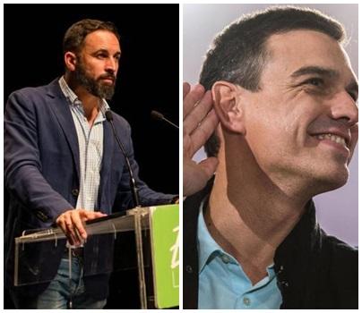 Santiago Abascal Pedro Sánchez contundente mensaje