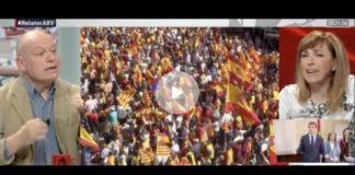 Angélica Rubio estalla contra la España constitucional que saldrá a la calle este domingo