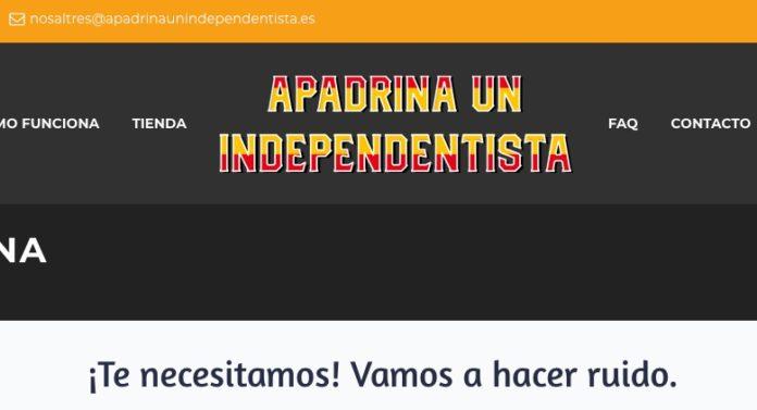apadrinar a un independentista