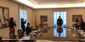 reciben los ministros a Pedro Sánchez