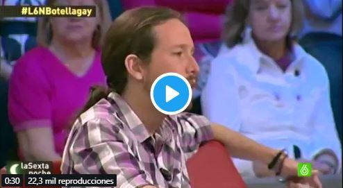 opinaba Pablo Iglesias de Ana Botella