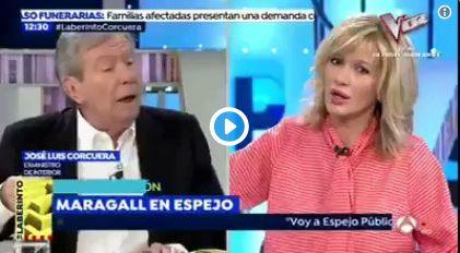Susanna Griso corta a Corcuera cuando le incomoda lo que dice