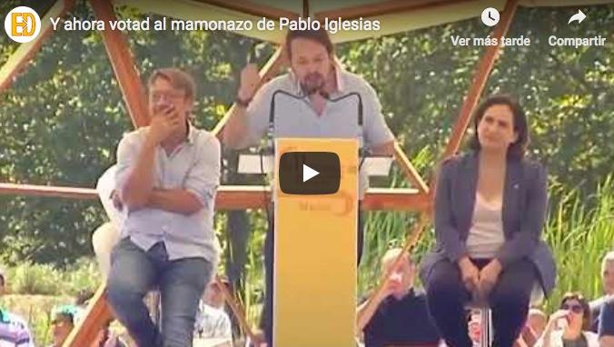 No olvidemos nunca estas palabras de Pablo Iglesias