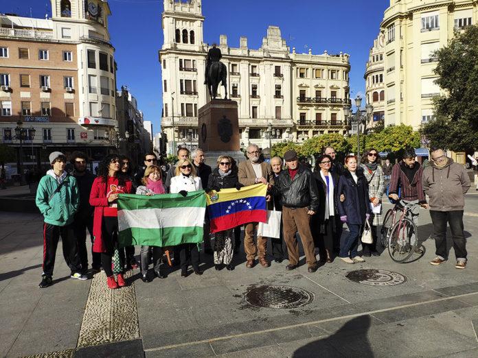 Rotundo fracaso de los defensores del dictador Maduro en Córdoba