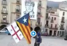 vergonzoso vídeo de los separatistas