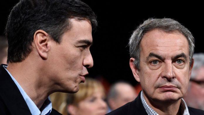 Zapatero sale en defensa de Pedro Sánchez