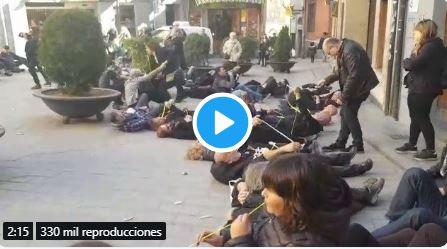 ridículo vídeo de los separatistas