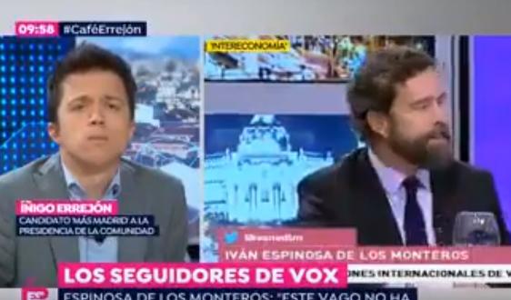 Iván Espinosa Íñigo Errejón