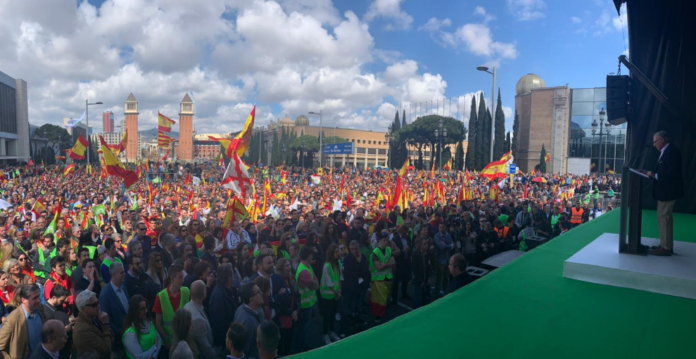 Vox arrasa en Barcelona